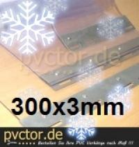 Tiefkühl PVC 30cm streifen