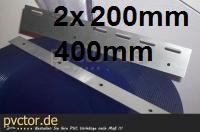 Haltebleche 400mm, V2A ( Rostfrei )