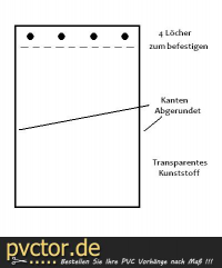 XXL Hundeklappe 1 x 40cm Länge