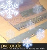 Polar PVC / Kälte- und Bruchfest - extra Weich PVC Streifen