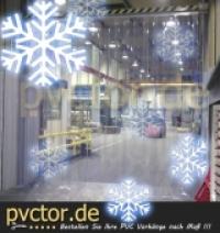 Tiefkühl Vorhang für Tiefkühlanlagen, Tiefkühllager und Tiefkühlhäuser ( bruchfestes PVC )