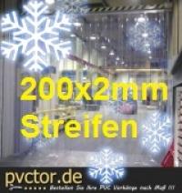 200mm Streifen für Kühlzelle Tür