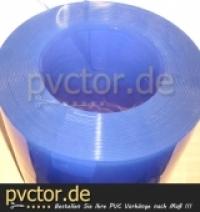 400 x 4 mm PVC Streifen transparent