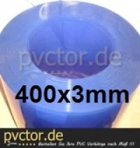 PVC Zuschnitt, Meterware von der Rolle 400x3mm, 40cm Breit, Stärke 3mm