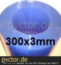 PVC 300mm 3mm x 10