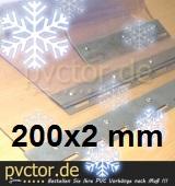 Ersatzstreifen für Kühlbereiche 200mm x 2mm