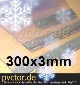 Ersatzstreifen für Kühlbereiche 300mm x 3mm