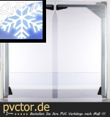 PVC - Platten für Tiefkühlräume
