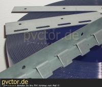 Bausatz streifenvorhang / Vorhang Einzelteile