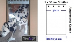 Hundeklappe Hundetür 30 x 50 cm