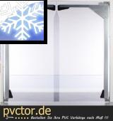 PVC - Platten für Tiefkühlräume 7mm