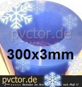 Tiefkühl Rollenware 300mm x 3mm x 25m