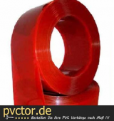 ROT - PVC - 300 x 3 mm - Meterware
