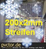 Tiefkühl Streifenvorhang B: 1,00m x H: 2,00m