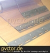 PVC Streifen 300 x 3 mm transparent