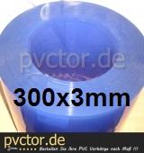 PVC - Rollenware 300x3 x 10m (Klar )