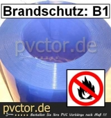 PVC Brandklasse B1 / B 1 - Rollenware 50m