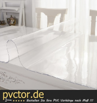 Tischfolie PVC 1000mm x 2000mm